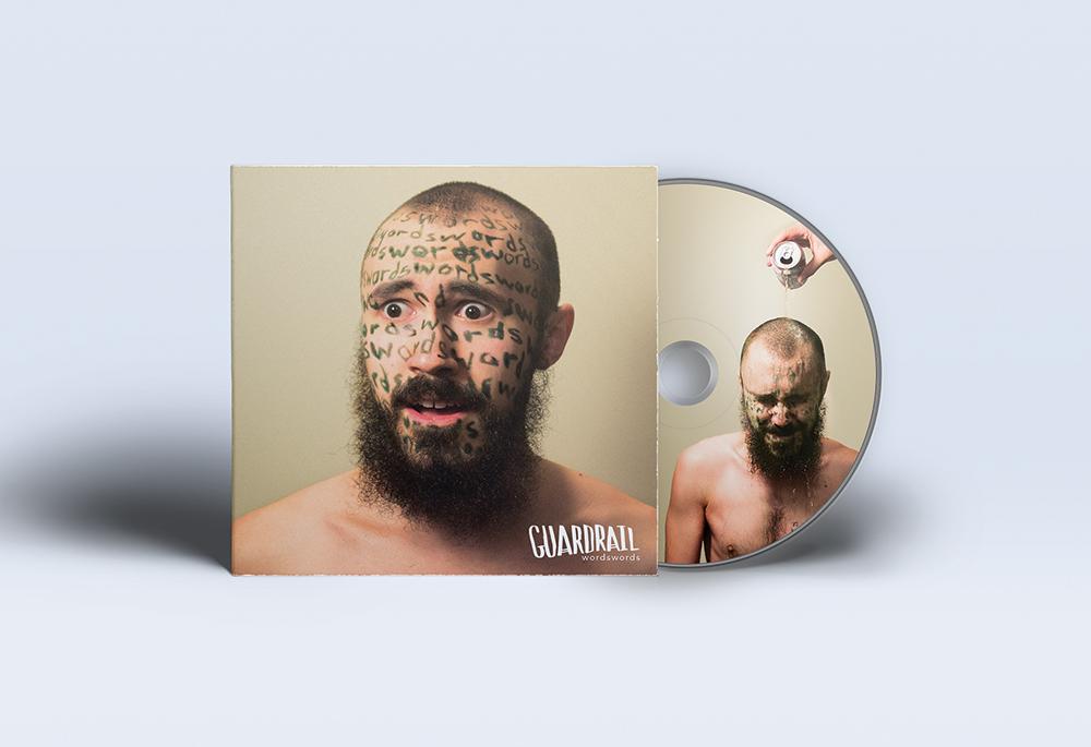 """""""wordswords"""" Album Art"""